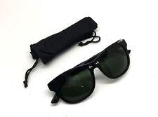 ecb6e16605 Diesel DL0048 01A Women Sunglasses Square Black Pierced   Green NEW w Pouch  RA6