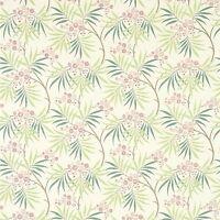Sanderson Arberella Furnishing Fabric - ROSE/IVORY - £25.00 per M - Free P&P