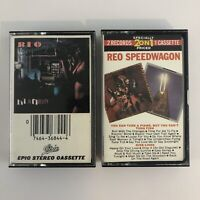 Lot of 2 REO Speedwagon Cassette Tapes - Hi Infidelity - You Can Tune a Piano