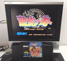 Art of Fighting 1 Ryuko No battery Ken Neo Geo AES Cartridge SNK Neogeo Japan