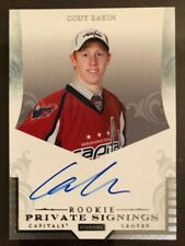 2011-12 Panini Rookie Private Signings Autograph Cody Eakin Auto #R-CE