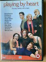 Jugar Por El Corazón DVD 1998 Romántica Drama Película de Cine Con / Connery
