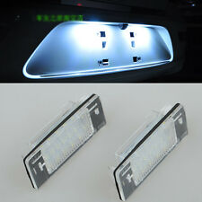 2x Error Free LED License Plate Light For OPEL Vauxhall Vectra C Estate 02-2008
