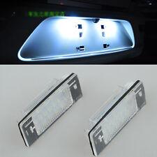 2x Error Free LED License Plate Light For OPEL Vauxhall Vectra C Estate 02-2008