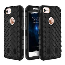 For Iphone 6 6S 7 Plus SE 5S 4S Hybrid Rugged Hard Shockproof Rubber Cover Case