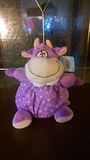 """6"""" Baby Purple Cow Chubbie W/Rattle - New with Tags"""
