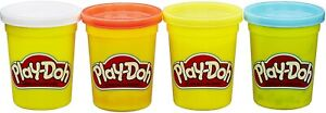 Hasbro Play-Doh 4-Pack of 4-Ounce Cans (Classic Colors) - Assorted Colors