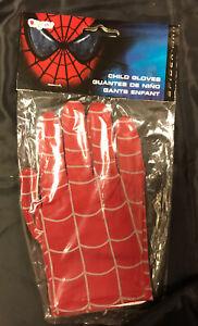 Spiderman Gloves Child Size