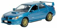 MOTOR MAX 73330 SUBARU IMPREZA WRX STi diecast model car Aqua blue 1:24th scale