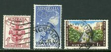 Australia Scott #288-290 USED OLYMPICS 1956 Melbourne $$ ISH-2