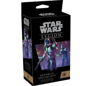 Republic Specialists Personnel Expansion Star Wars: Legion FFG NIB SHIPS 2/19