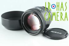 Nikon AF Nikkor 85mm F/1.8 D Lens #27937 A3