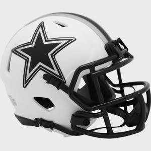Dallas Cowboys Lunar Eclipse Alternate Riddell Speed Mini Helmet New in box