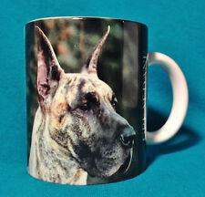 "Great Dane Dog Lover Ceramic Coffee Tea Mug New Picture History Background 3.75"""
