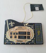 New Orleans Saints scoreboard ornament