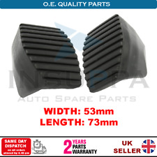 2X CLUTCH AND BRAKE PEDAL PADS FOR PEUGEOT 807 EXPERT PARTNER TEPEE 4504.17