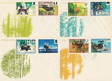 Poland FDC (Mi. 2247-54) Wildlife #4
