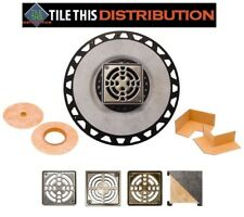 SCHLUTER KERDI SHOWER DRAIN KITS  ~~ Color Selections Available ~~