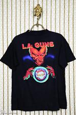 L.A. GUNS T-Shirt, Vintage Rare Faded Black Guns N Roses W.A.S.P Mens S-4XL AV81