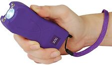 20 Mil Volt Runt PURPLE Flashlight Stun Gun Self Defense Security Safety Camping