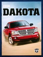 Prospekt brochure 2010 Dodge Dakota Pickup (USA)