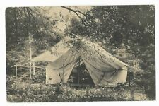 A CAMP IN THE WOODS  Pocono Lake Preserve PA  POSTED 1910