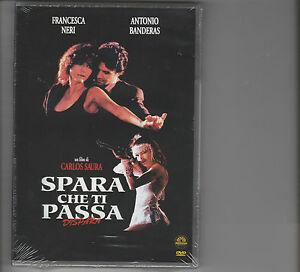 "ANTONIO BANDERAS,FRANCESCA NERI - FILM ""SPARA CHE TI PASSA"" DVD ORIGIN NUOVO"