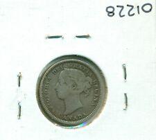 CAP Canada 10 cents 1887 Fine