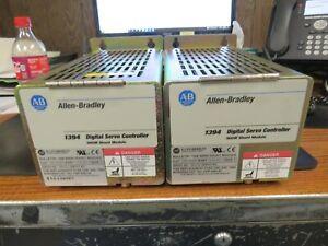 2 - ALLEN BRADLEY 1394-SR9AF DIGITAL SERVO CONTROLLER 900W SHUNT MODULE (VERY NI