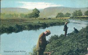 Disciples of Izaak Walton fly fishers shurey series 1907 Fishing