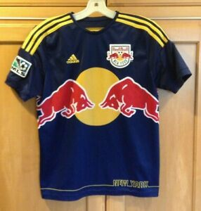 Youth adidas Climacool NY Red Bulls Soccer Jersey - L