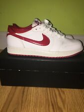 OG varsity red Jordan one low men's 9
