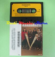 MC HUANKARUTE vol III musica de los andes 1989  no cd lp dvd vhs