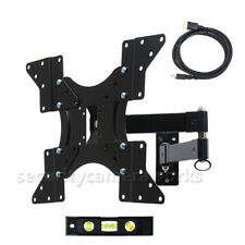 "Tilt Swivel LED LCD TV Wall Mount 32 39 40 42 46 47 48 50"" Flat Panel Screen bjb"