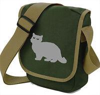 Cat Bag Mini Reporter Shoulder Bags British Shorthair Cat Birthday Gift