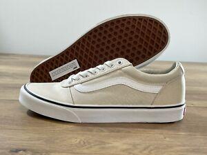 Vans MN Ward Skateboarding Shoes Turtledove/White MN SZ 9 ( VN0A38DM3Q7 )
