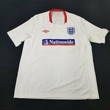 Umbro England Nationwide White Soccer Jersey Shirt Men's size Xl (Ba2)