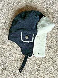 Janie and Jack Baby Boys Winter Hat Ear Flaps Size 0 6 Months NEW $29 VALUE