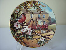 Wedgwood Old English Gardens Bullfinches & Cherry blossom cabinet display plate