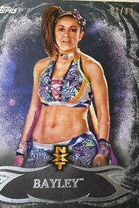 2015 Topps WWE Undisputed  Prospects #NXT15 Bayley Rookie Wrestling Card #81/99