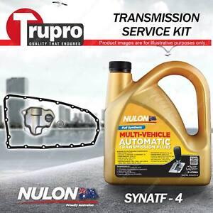 SYNATF Transmission Oil + Filter Kit for Mitsubishi Lancer CJ Outlander ZG ZH