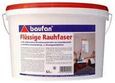 Baufan Flüssige Rauhfaser 5l Eimer Streichfarbe Strukturanstrich innen