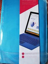 Snugg Leather Sleeve for Microsoft Surface Pro 3 / 4 - Blue