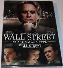 Wall Street DVD Michael Douglas Josh Brolin Frank Langella Carey Mulligan NEW