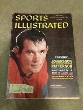 FM1-8 Sports Illustrated Magazine 6-20-1960 Patterson Johansson Boxing