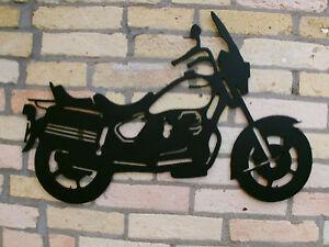Moto Guzzi California aus 3mm Stahl in 60cm Breite Handgefertigte Einzelstücke