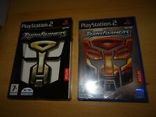 Transformers  (PS2)  NEW SEALED PAL VERSION