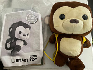 2015 Fisher-Price Smart Toy Interactive Plush Monkey Talking Learning