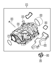 Genuine Mopar Throttle Body To Intake Seal 53022320AB