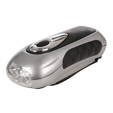 SILVERLINE 3 LED WIND-UP TORCH NO BATTERIES REQ (839905)